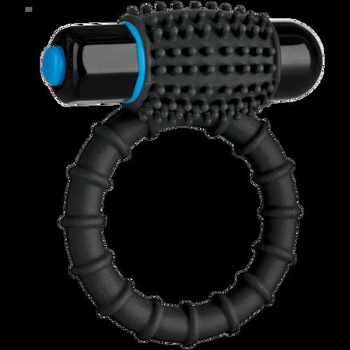 OptiMALE Vibrating C-Ring Silicone Black