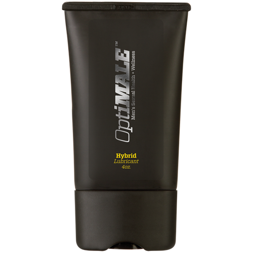 OptiMALE Hybrid Silicone-Water Based Personal Lubricant 4 oz