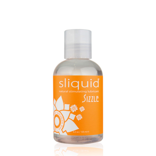 Buy the Naturals Sizzle Water-based Stimulating Lubricant 4.2 oz - Sliquid