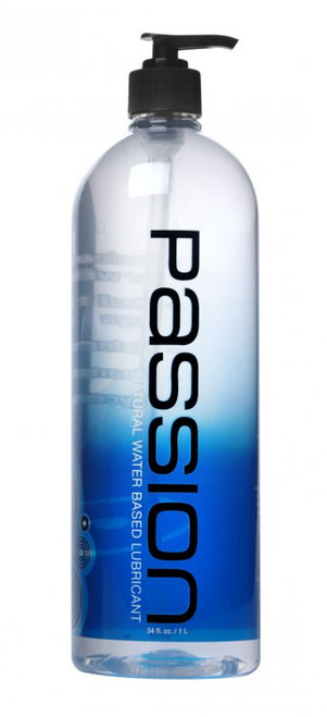 Passion Natural Water-Based Lubricant 34 oz Pump