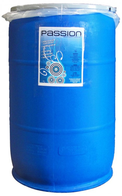 Buy the Passion Natural Water-Based Lubricant 55 Gallon Drum with Pump -  XR Brands