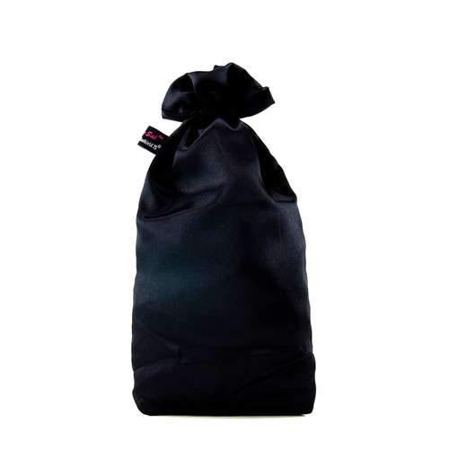 Buy The Sugar Sak Antibacterial Intimate Toy Storage Bag Large in Black with Bioshield75