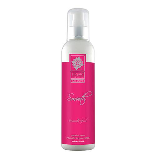 Sliquid Organics Balance Smooth Intimate Shave Creme Grapefruit Thyme 8.5 oz