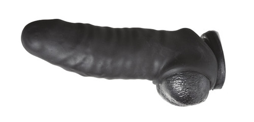 Perfect Fit Real Boy Kit Suction Cup Dong and Sleeve Black