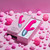 Buy the Delola 8-function Dual Density Rechargeable Liquid Silicone Rabbit Vibrator with Boost Mode in Pink - FemmeFunn Nalone Femme Funn VVole