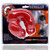 Buy the Stretchy MeatLocker Full Cover Plus+Silicone Male Chastity Device with Faux Piercings in Red Ice - Blue Ox OxBalls