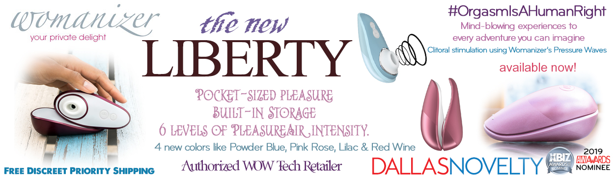 Take your Liberty and go where no one has gone before.  Ladies, get ready for takeoff with a stylish cover and 6 levels of stimulation, the Liberty guarantees pleasure in every place on the planet.