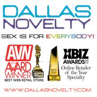 Dallas Novelty Online Sex Toys Retailer 2017-2019 avn xbiz awards winner