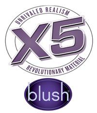 blush novelties X5 realistic sex toys using revolutionary realistic lifelike material
