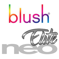 blush novelties neo elite collection of silicone sex toys realistic dildos & dongs
