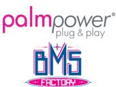 bms factory palmpower plug & play wand massager