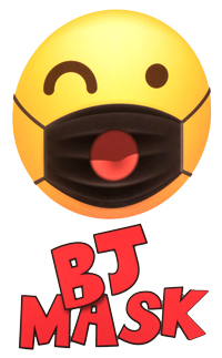 Buy the BJ 69 Open Mouth Face Mask in Black ppe - Cal Exotics