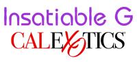 CalExotics insatiable g inflatable silicone rechargeable g-spot vibrators