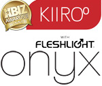 kiiroo Onyx for Him with fleshlight inside
