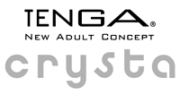 tenga crysta clear sex toys made in Japan