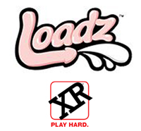XR Brands Loadz Squirting Realistic Vibrating Dildo Dongs & Accessories