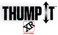Thump It by xr brands Kinetic Technology thumping remote control wireless unisex vibrators butt plugs & accessories