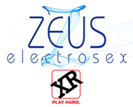 zeus electrosex estim electroerotic sex toys & electrostimulation gear by XR Brands