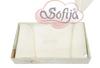 sofjia cot bumper cream