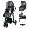 Cosatto Giggle 3 Travel System 3 in 1 RAC I-Size Isofix Bundle - Fika Forest