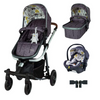 Cosatto Giggle Quad 3 in 1 RAC i-Size Premium Bundle - Fika Forest