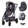 Cosatto Wow Continental 3 in 1 Premium RAC i-Size Car Seat Bundle - Fika Forest