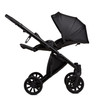 Anex Baby E Type Pram and Pushchair - Noir Eco Leather