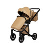 Anex Baby E Type Pram and Pushchair - Caramel Eco Leather
