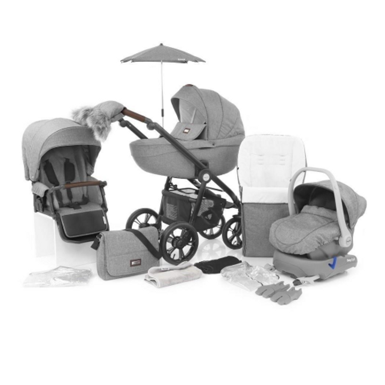 Grey BabyStyle Prestige 2 Iso-Fix Car Seat Base