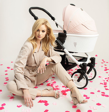 Venicci Pure Rose Pink Travel system 3 in 1 pram - New 2021 Style