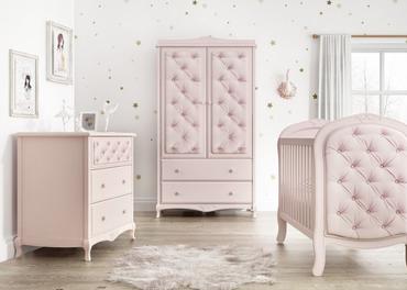 Bebecar Trama Pink luxury nursery furniture