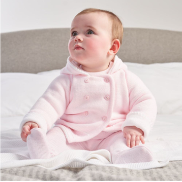 PINK BABY KNITTED JACKET