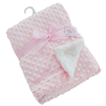 Bubble Blanket in Pink
