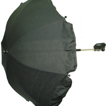 Black Parasol for Pram and Strollers Universal fit