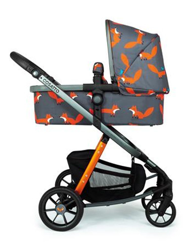 Cosatto Giggle quad pram and pushchair charcoal mister fox