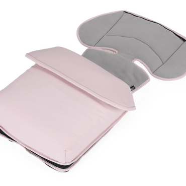 Bebecar Pink Opal Fleece Footmuff