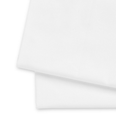 Baby Cot Flannelette Sheets 100% Cotton White