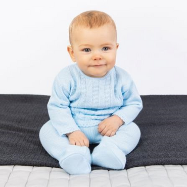 Baby Boys Knitted Set - Baby Boys Spanish Knit wear