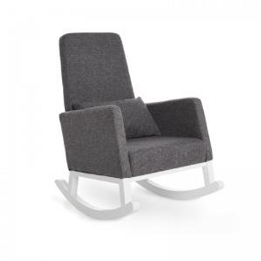OBaby High Back rocking chair in Grey - Nursing Chair