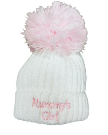 Mummy's Girl Baby Hat