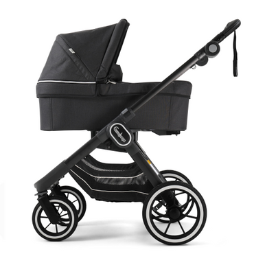 EmmalJunga NXT 90 Lounge Black Pushchair and Carrycot Package 2 in 1