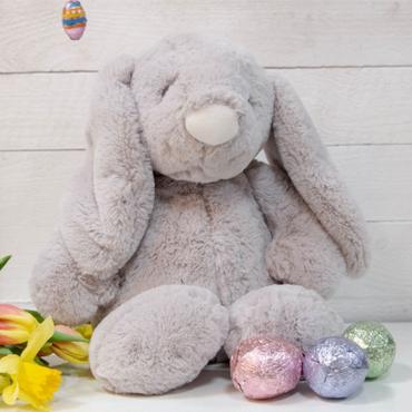 Bambino Grey Plush Rabbit Large 31cm