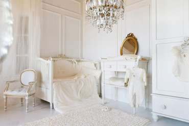 Sofjia luxury cot bumper 100% Cotton