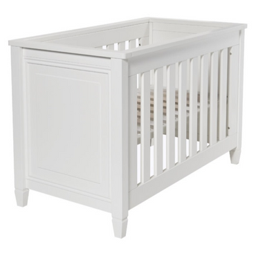 babystyle marbella white cot bed