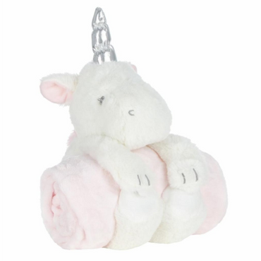 Unicorn Toy and Blanket