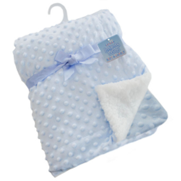 Bubble Blanket in Blue