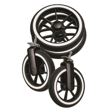 Emmaljunga Replacement Wheel Package - NXT90 - Light wheels puncture Free