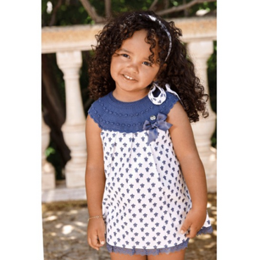 Juliana 2021 Baby Girls Spanish Turtle Print Dress