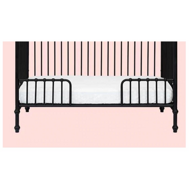Incy Interiors Matte Black Oscar Conversion Kit For Cot to Cot Bed