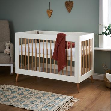 OBaby Scandi Style Mini Cot Bed Maya